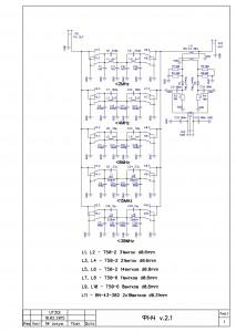 Схема ФНЧ v.2.1 18.02.2015
